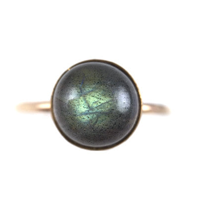Labradorite Large Ring