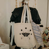 Moth and Moons Tote Bag