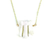 Quartz Triplet Necklace