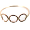 Triplet Horizontal Ring