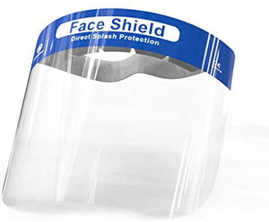 Full Face Shields Direct Splash Protection