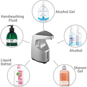 Hands Free Hand Sanitizer Gel Dispenser 450ml