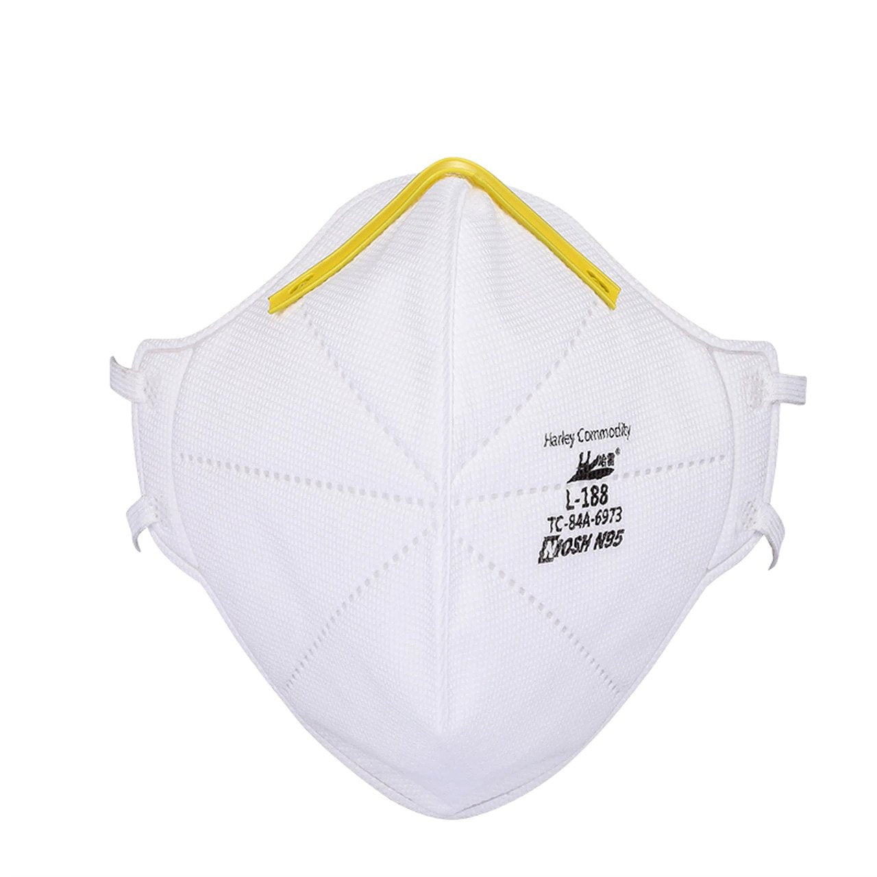 Harley N95 Respirator Face Mask - Model L-188 - NIOSH Approved