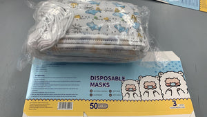 KIDS 3 Ply Disposable Masks