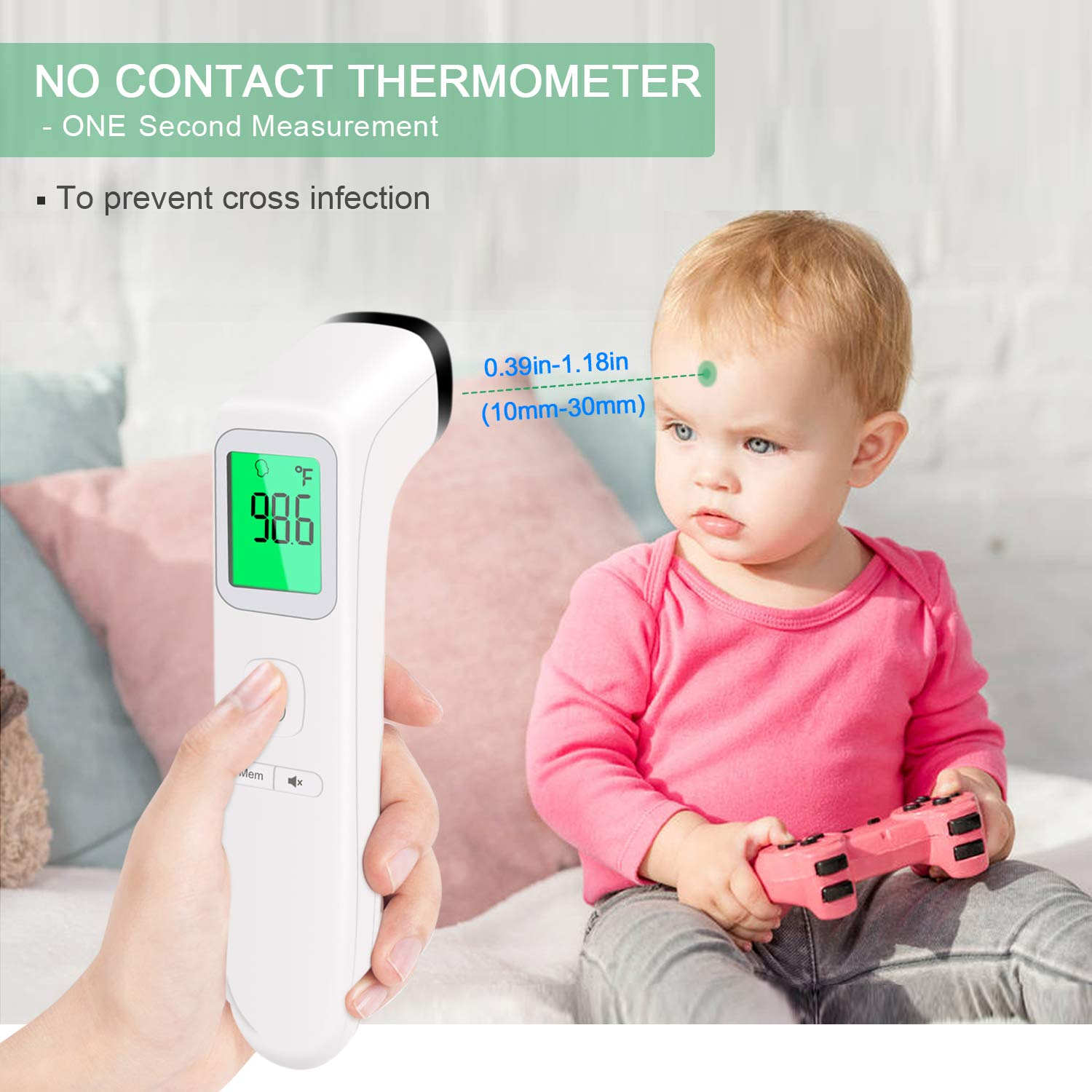 Infra Red Touch Free Digital Thermometer