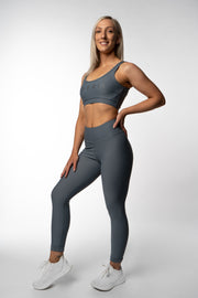 Revival Scrunch Leggings - Smoke Grey
