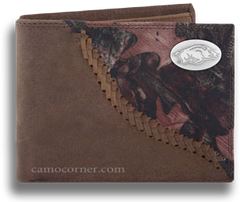 Arkansas Fence Row Camo Bi Fold Wallet