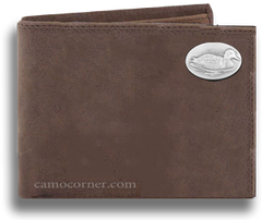 Duck Crazy Horse Bi Fold Wallet
