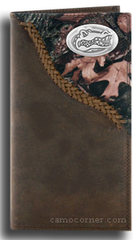 Florida Fence Row Camo Long Wallet