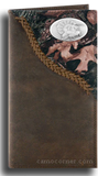 Turkey Fence Row Camo Long Wallet