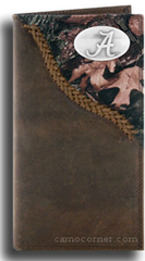 Alabama Fence Row Camo Long Wallet