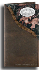 Arkansas Fence Row Camo Long Wallet