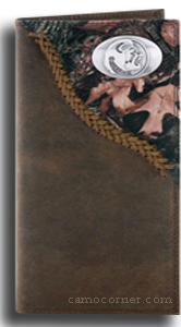 FSU Fence Row Camo Long Wallet