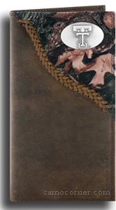 Texas Tech Fence Row Camo Long Wallet