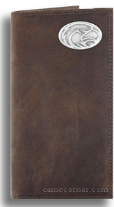 Southern Miss Crazy Horse Leather Roper Wallet