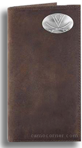 Virginia Crazy Horse Leather Roper Wallet