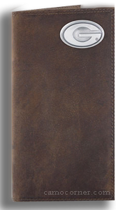 Georgia Crazy Horse Leather Roper Wallet
