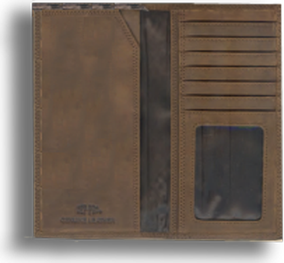 Virginia Fence Row Camo Long Wallet
