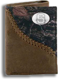 North Carolina State Fence Row Camo Tri Fold Wallet