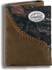 Florida Fence Row Camo Tri Fold Fold Wallet