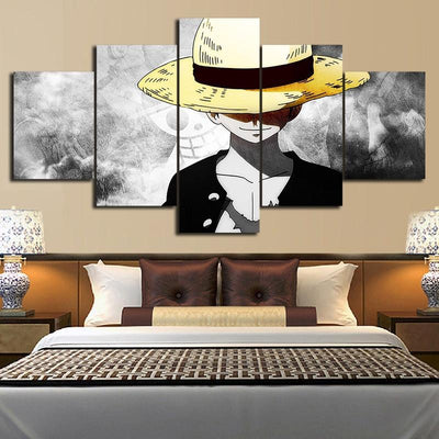 Straw Hat Luffy Wall Art