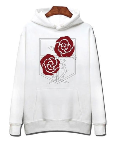Attack on Titan Stationary Guard Hoodie - Kurama Anime Stuff