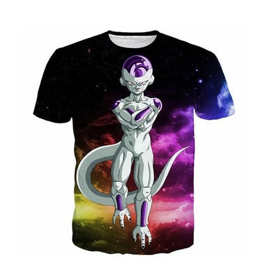 Dragon Ball Z Frieza T-Shirt - Kurama Anime Stuff