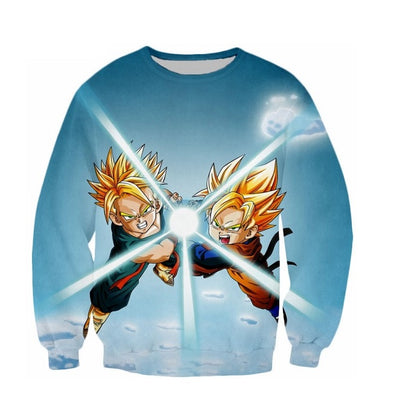 Goten and Trunks Sweater - Kurama Anime Stuff