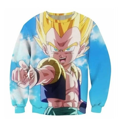 Gotenks Sweatshirt - Kurama Anime Stuff