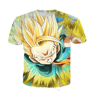 Kid Trunks T-Shirt - Kurama Anime Stuff