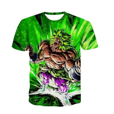 Legendary Broly T-Shirt - Kurama Anime Stuff