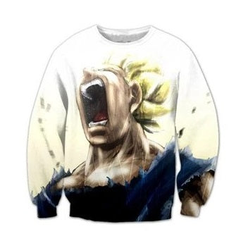 Majin Vegeta Sweatshirt - Kurama Anime Stuff