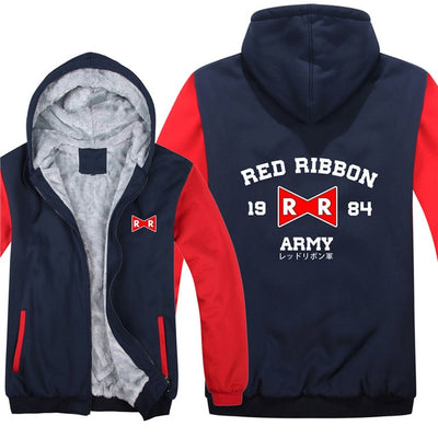 Dragon Ball Red Ribbon Army Jacket (Blue & Red)