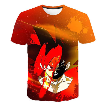 Son Goku T-Shirt - Kurama Anime Stuff