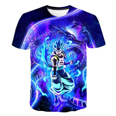 Vegito Blue T-Shirt - Kurama Anime Stuff