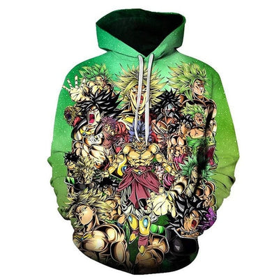 Dragon Ball Z Broly Hoodie - Kurama Anime Stuff