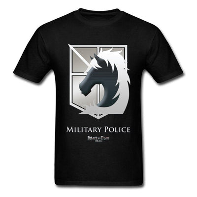 Attack on Titan Military Police T-Shirt - Kurama Anime Stuff