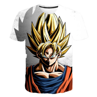 Dragon Ball Z Goku Xenoverse T-Shirt - Kurama Anime Stuff