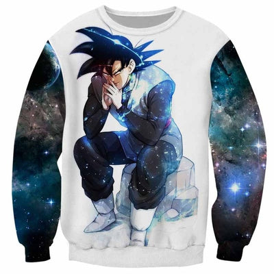 Goku Black Sweater - Kurama Anime Stuff