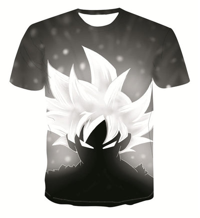 Supreme Ultra Instinct Goku T-Shirt - Kurama Anime Stuff