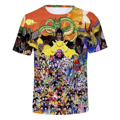 Anime DBZ T-Shirts - Kurama Anime Stuff