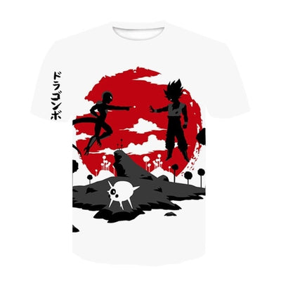Frieza Goku T-Shirt - Kurama Anime Stuff