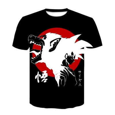 Oozaru T-Shirt - Kurama Anime Stuff