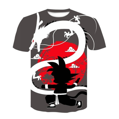Awesome DBZ T-Shirt - Kurama Anime Stuff