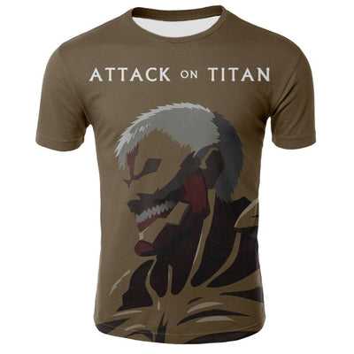 Shingeki No Kyojin Armored Titan T-Shirt - Kurama Anime Stuff
