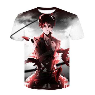 Attack on Titan Eren Jueger T-Shirt - Kurama Anime Stuff