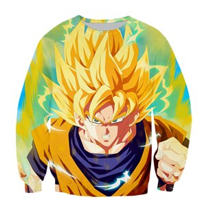 Dragon Ball Z Goku Sweater - Kurama Anime Stuff