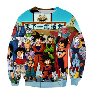 Dragon Ball Z Friends Sweater - Kurama Anime Stuff