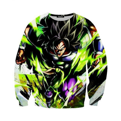 Broly Sweater - Kurama Anime Stuff