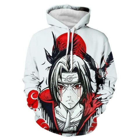 Itachi Crows Hoodie - Kurama Anime Stuff